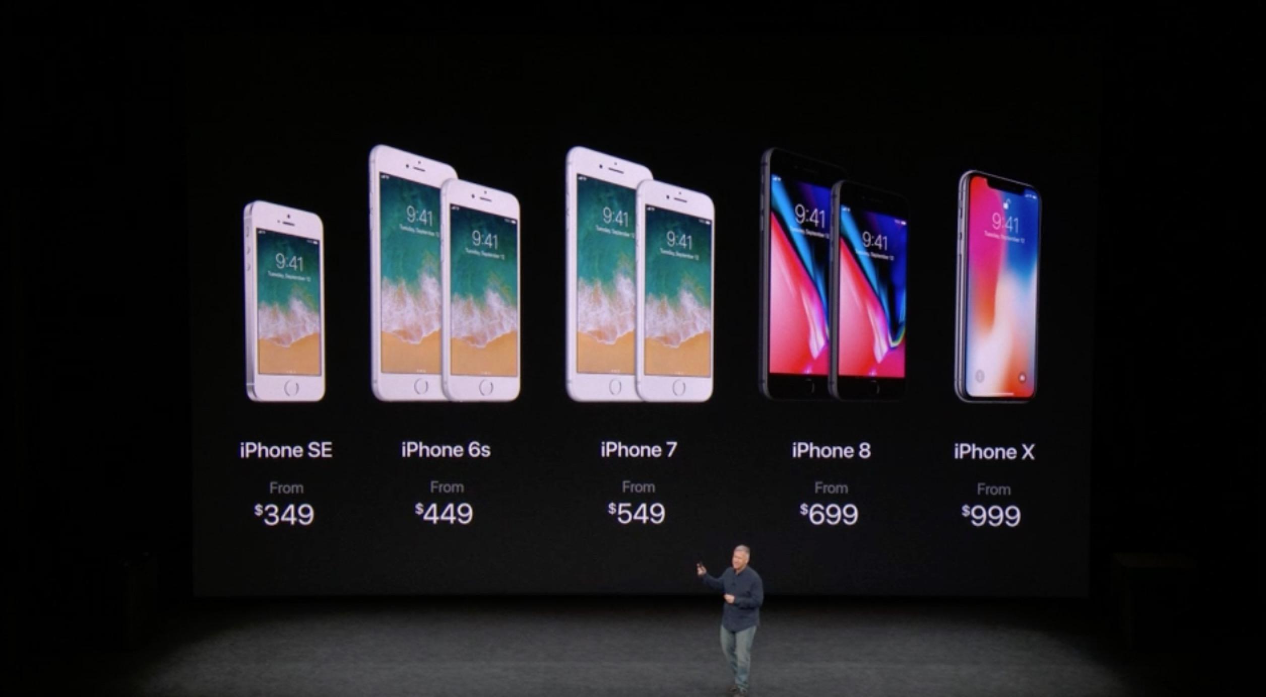 بهای آیفون های اپل