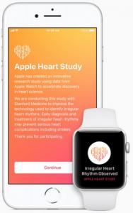 اپل آزمایش می کند تا ببیند آیا سنسورهای ساعت اپل می توانند ریتم های قلب نامنظم را تشخیص دهند
