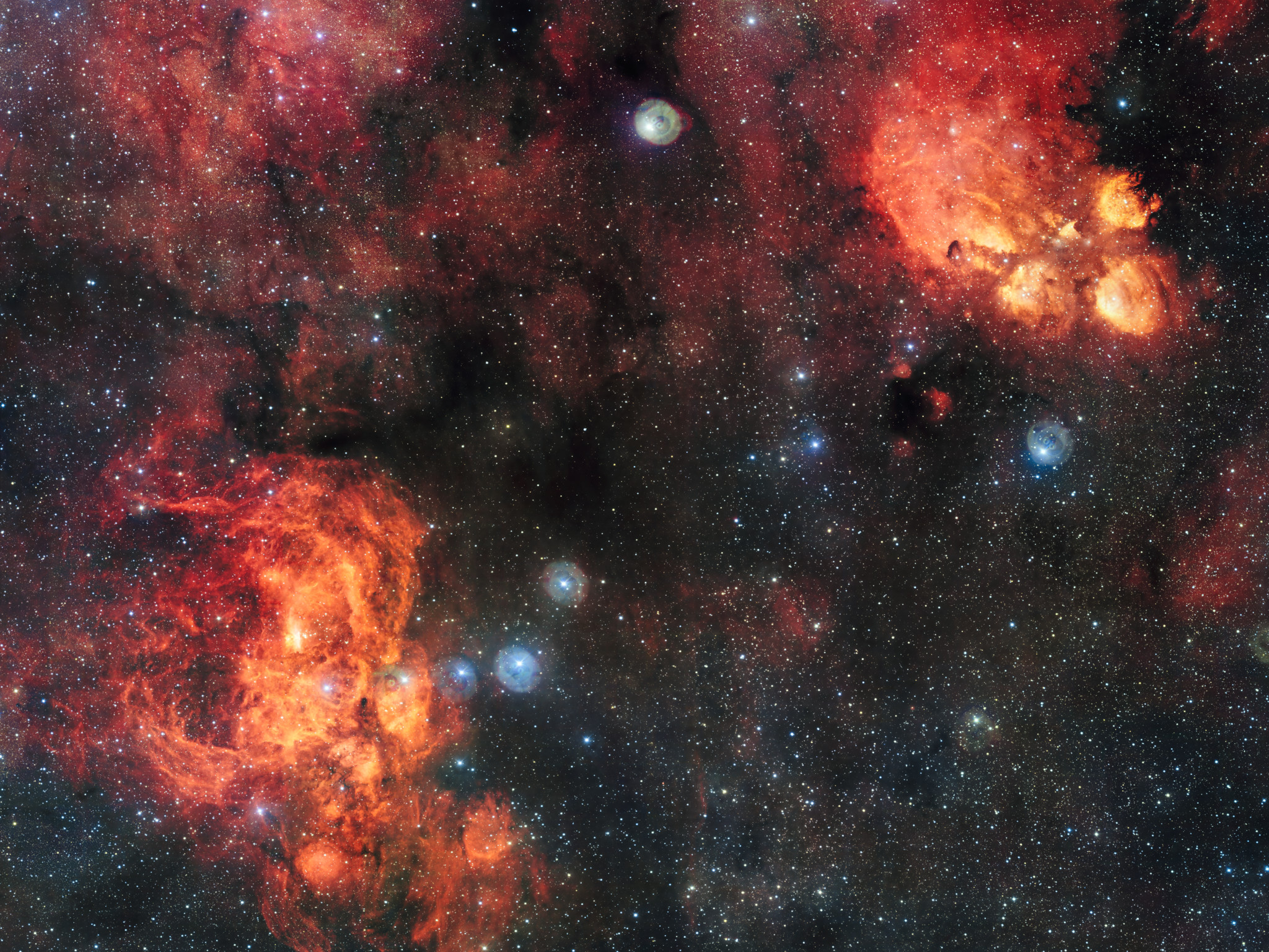 تصویر 2 میلیارد پیکسلی از فضا