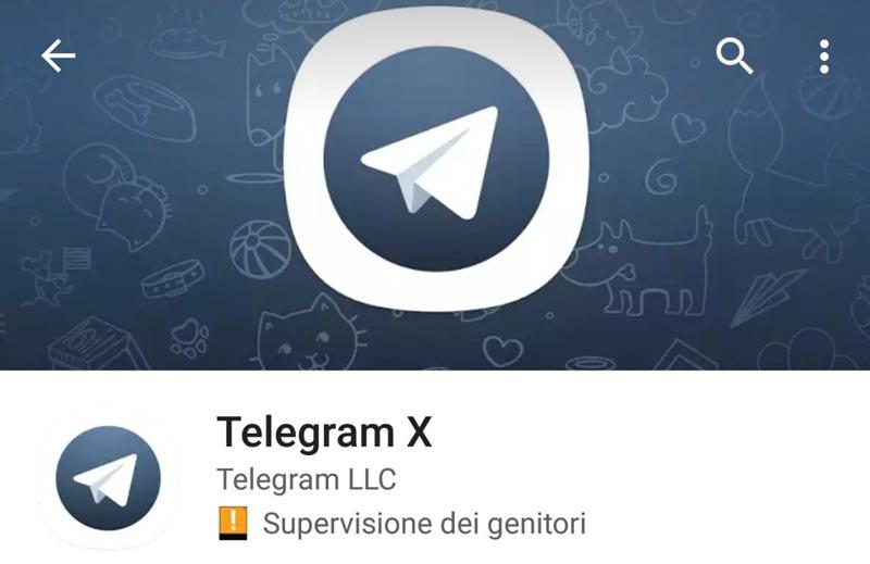 تلگرام اکس