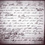 دست نوشته ایزاک نیوتن