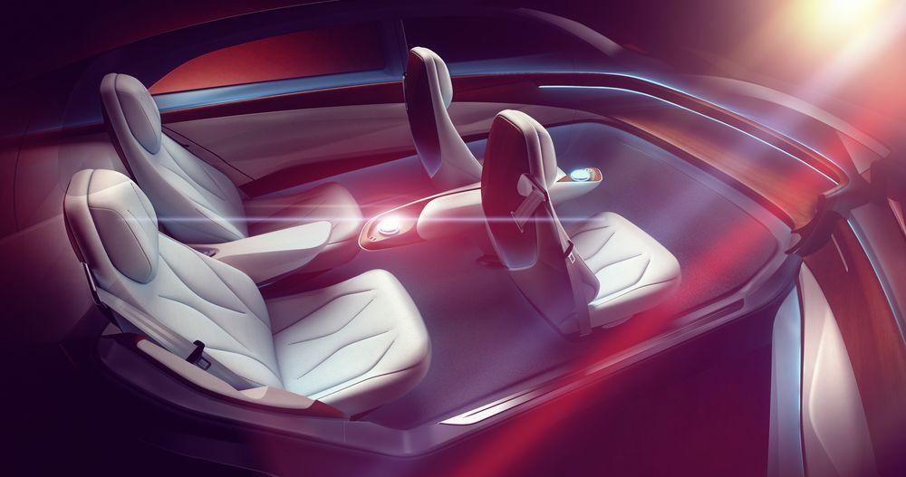 نمای داخلی کانسپ خودرو فولکس واگن
