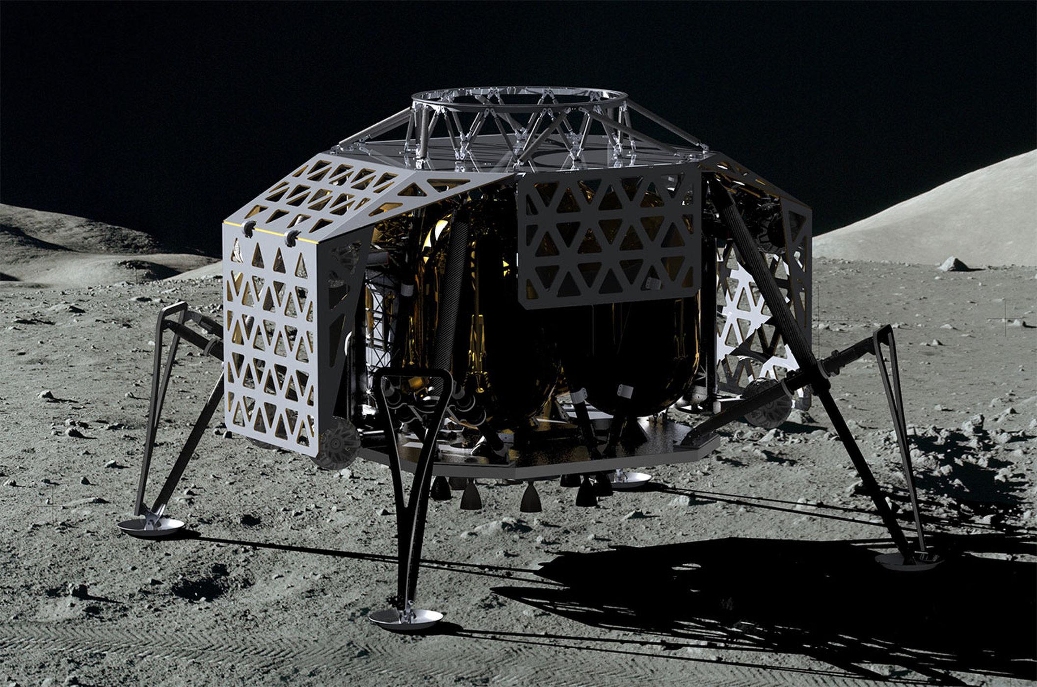 ALINA در کره ماه