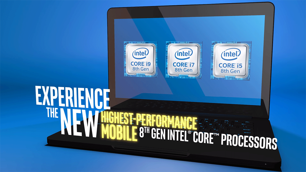 نسل جدید پردازنده های اینتل برای لپتاپ