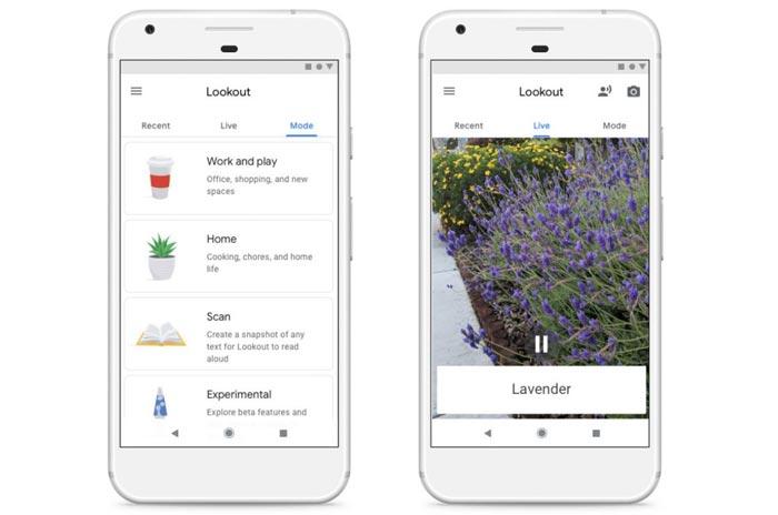 اپلیکیشن راهنمایی برای نابینایان توسط گوگل